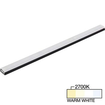 "Task Lighting sempriaLED® SG9 Series 6"" - 48"" LED Strip Light Fixture, Higher Light Output, Black Mount, Warm White 2700K"