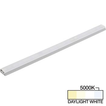"Task Lighting sempriaLED® SG9 Series 6"" - 48"" LED Strip Light Fixture, Higher Light Output, Grey Mount, Daylight White 5000K"