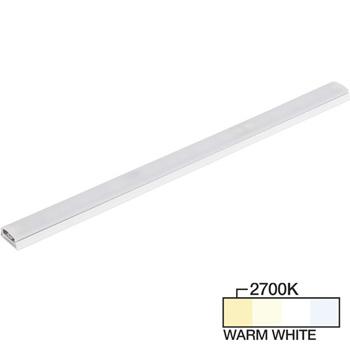 "Task Lighting sempriaLED® SG9 Series 6"" - 48"" LED Strip Light Fixture, Higher Light Output, White Mount, Warm White 2700K"