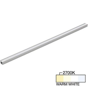 "Task Lighting sempriaLED® R Series Model SR9 7-5/8"" - 49-5/8"" Length LED Recessed Strip Light Fixture, Medium - Higher Light Output, Warm White 2700k"