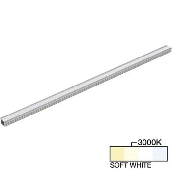 "Task Lighting sempriaLED® R Series Model SR9 7-5/8"" - 49-5/8"" Length LED Recessed Strip Light Fixture, Medium - Higher Light Output, Soft White 3000k"