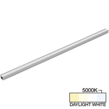 "Task Lighting sempriaLED® R Series Model SR9 7-5/8"" - 49-5/8"" Length LED Recessed Strip Light Fixture, Medium - Higher Light Output, Daylight White 5000k"