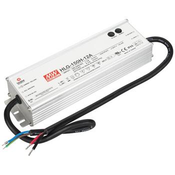 "Task Lighting Waterproof LED Hardwired Power Supply, 150 Watts, 12V DC, 7-3/8"" W x 2-3/8"" D x 1-1/2"" H"