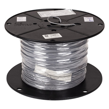 """Task Lighting sempriaLED® 1000' Foot Spool 20/2 AWG Solid Connection Wire, 20 Gauge, 1000' x 9/64"""" Diameter"""