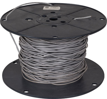 """Task Lighting sempriaLED® 500' Foot Spool 20/2 AWG Solid Connection Wire, 20 Gauge, 500' x 9/64"""" Diameter"""