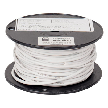 """Task Lighting illumaLED™ 100' Foot Spool of 20/2 AWG Stranded Connection Wire, 20 Gauge, 100' x 9/64"""" Diameter"""