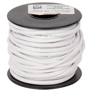 """Task Lighting illumaLED™ 50' Foot Spool of 20/2 AWG Stranded Connection Wire, 20 Gauge, 50' x 9/64"""" Diameter"""