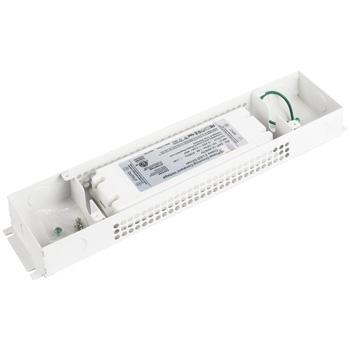 "Task Lighting Class 2 LED Hardwired Dimmable Power Supply, 48 Watt, 12V DC, 13-3/4"" W x 3"" D x 1-5/8"" H"