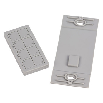 4-Zone Quattro LED Controller Grey Product View