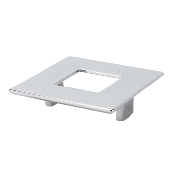 Topex Square Pull with Hole in Chrome