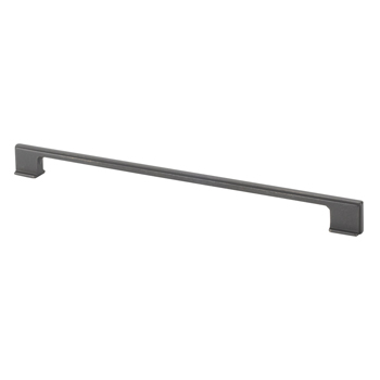 Topex Thin Square Pull Handle in Dark Bronze