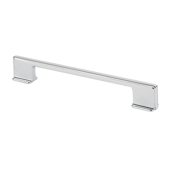 Topex Thin Square Pull Handle in Chrome