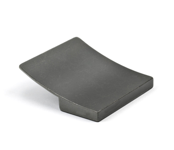 Topex Curved Square Pull in Bronze
