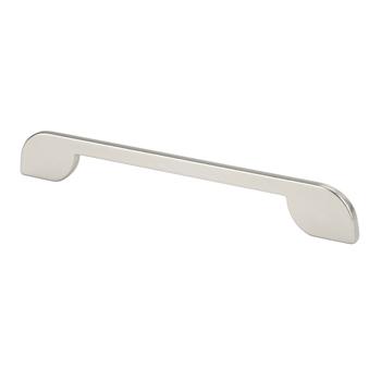 Topex Thin Modern Pull in Satin Nickel