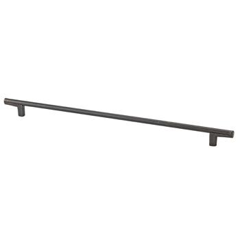 Topex Thin Round Bar Pull Handle in Dark Bronze