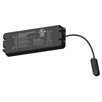 Tresco by Rev-A-Shelf 12VDC 60W Dimmable Transformer w/ 6 Snap Wiring Block