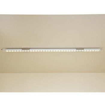 "Tresco by Rev-A-Shelf 12VDC FineLine LED Linkable 12"" Single Stick, 2.4W/Ft., Nickel"