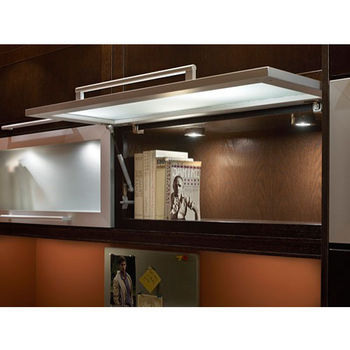 Tresco by Rev-A-Shelf 12VDC EquiLine LED Puck Light, Clear, 3W