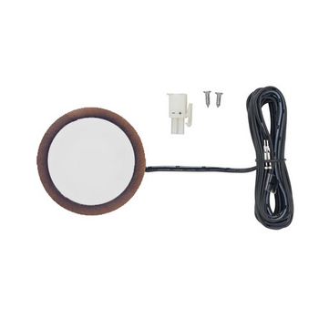 Tresco 3W 3000K Oil Rubbed Bronze LED Pockit w/Surface Mount Ring, Frosted Glass