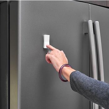 Tresco by Rev-A-Shelf FREEDiM Series 12VDC Deco Wireless Wall Dimmer, White, w/o Housing