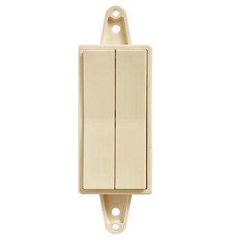Tresco by Rev-A-Shelf FREEDiM Series 12VDC Deco 2-Zone Wireless Wall Dimmer
