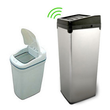 Trash cans free standing built in under cabinet pull out garbage cans for your kitchen - Small pull out trash can ...