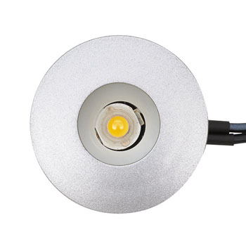 Tresco by Rev-A-Shelf 12VDC Pockit Point 1W Mini-Spot/Eye LED Light