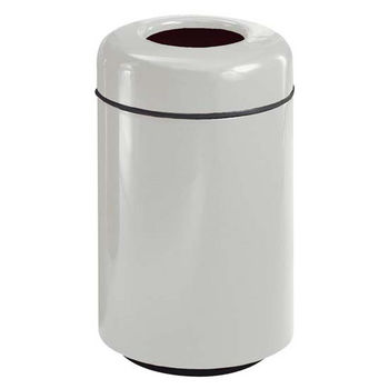 Trash Cans Un Fgfg1829tpl 20 Gallon Round Open Top Trash