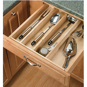Spice Drawer Inserts, Utensil Drawer Inserts