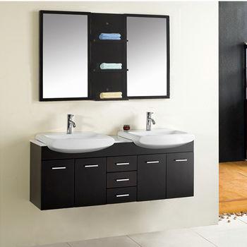 Virtu Ophelia Complete Double Bath Vanity Set
