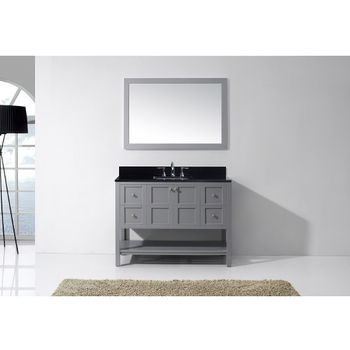 "Virtu USA Winterfell 48"" Single Bathroom Vanity Cabinet Set"