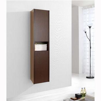 Walnut Linen Cabinet