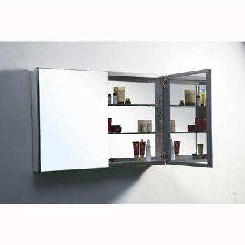"40"" Medicine Cabinet Opened View"