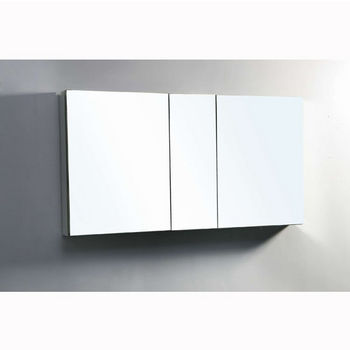 "50"" Medicine Cabinet Side View"