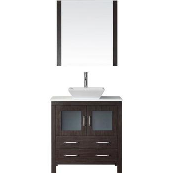 """Virtu USA Dior 32"""" Single Sink Bathroom Vanity Set"""