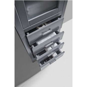 Grey Top View Drawers