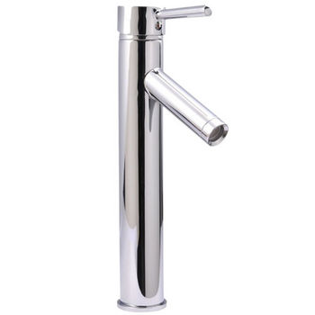 Virtu 12'' Single Handle Faucet in Polished Chrome, 2'' W x 2'' D x 12'' H