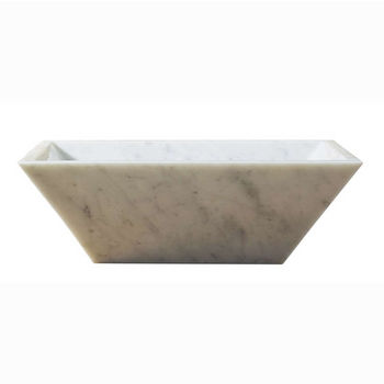 Bianco Carrara Marble Front View