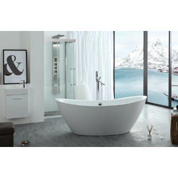 bathtubs, anti-bacterial non-porous surface, upc and cupc