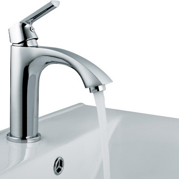 Chrome Shown with Sink
