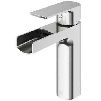 Brushed Nickel Faucet - Product View