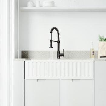 Faucet in Matte Black Lifestyle 2