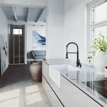 Faucet in Matte Black Lifestyle 3