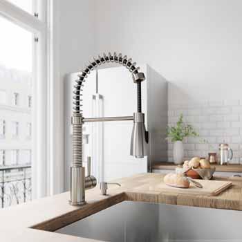 Vigo Stainless Steel Faucet Lifestyle View