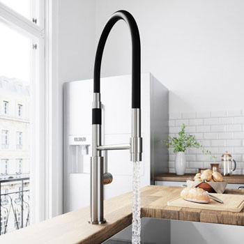 Stainless Steel Faucet - Illustration