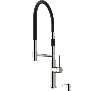 Stainless Steel Faucet with Soap Dispenser - Product View