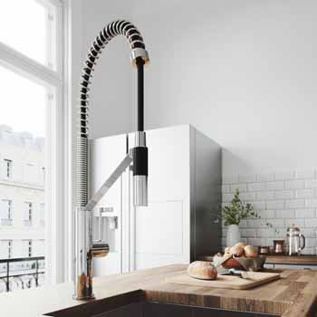 Vigo Chrome Faucet Lifestyle View