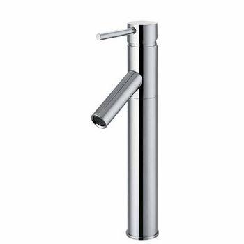Vigo Chrome Finish Bathroom Vessel Faucet, Down Handle