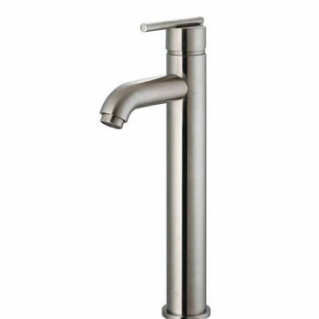Vigo Brushed Nickel Finish Bathroom Vessel Faucet