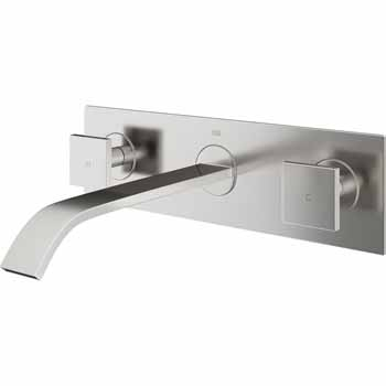 Vigo Brushed Nickel Faucet Display View